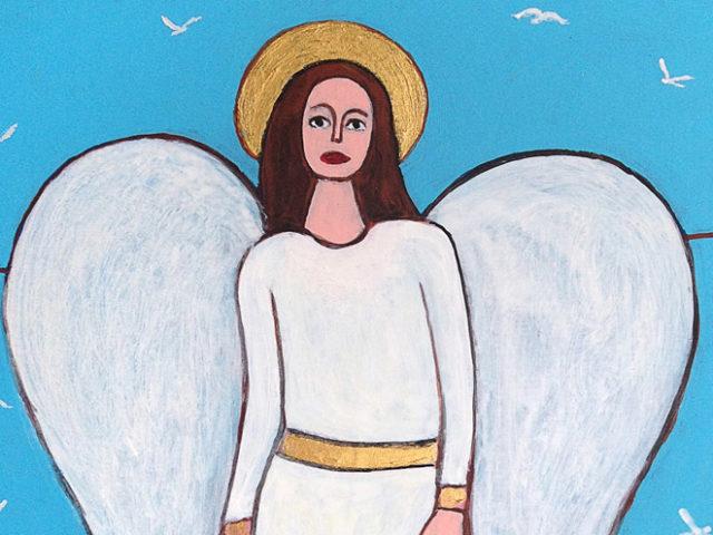 L'angelo nel paesaggio